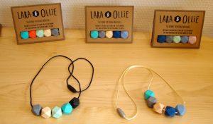 Bracelet et collier de la marque Lara & Ollie.